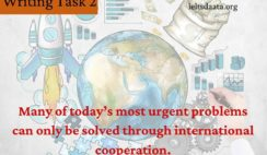 Many of today's most urgent problems can only be solved through international cooperation.