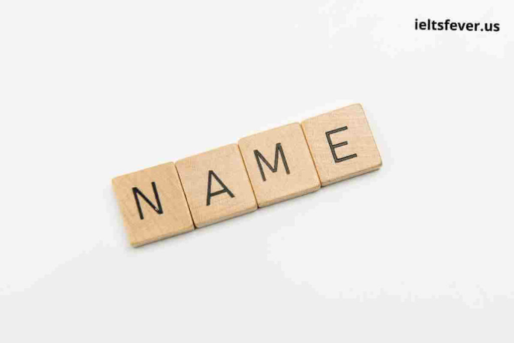 Remember People's Names Speaking Part 1 Questions With Answers